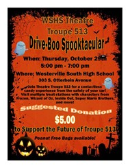 Westerville South Troupe 513 Drive-By Spooktacular